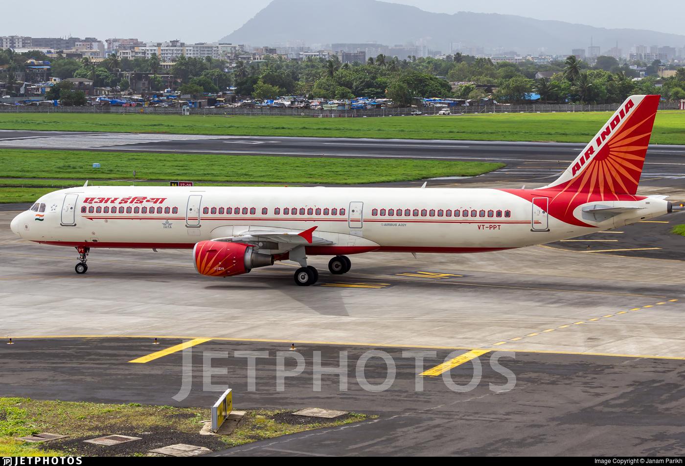 VT-PPT - Airbus A321-211 - Air India