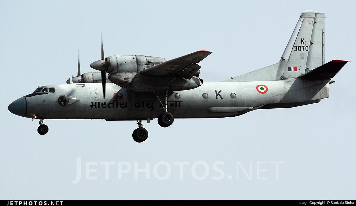 K3070 - Antonov An-32 - India - Air Force