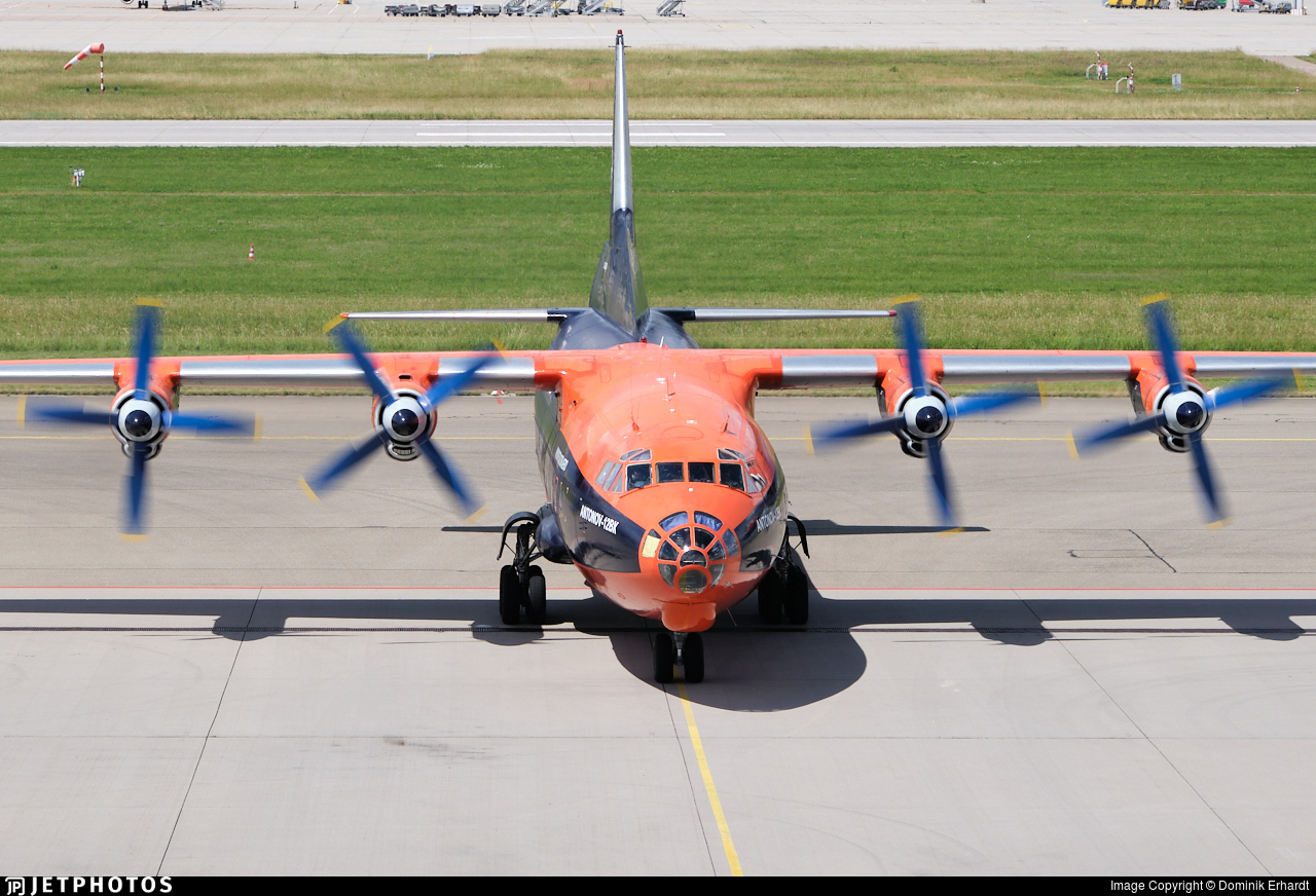 UR-CKL - Antonov An-12BK - Cavok Air