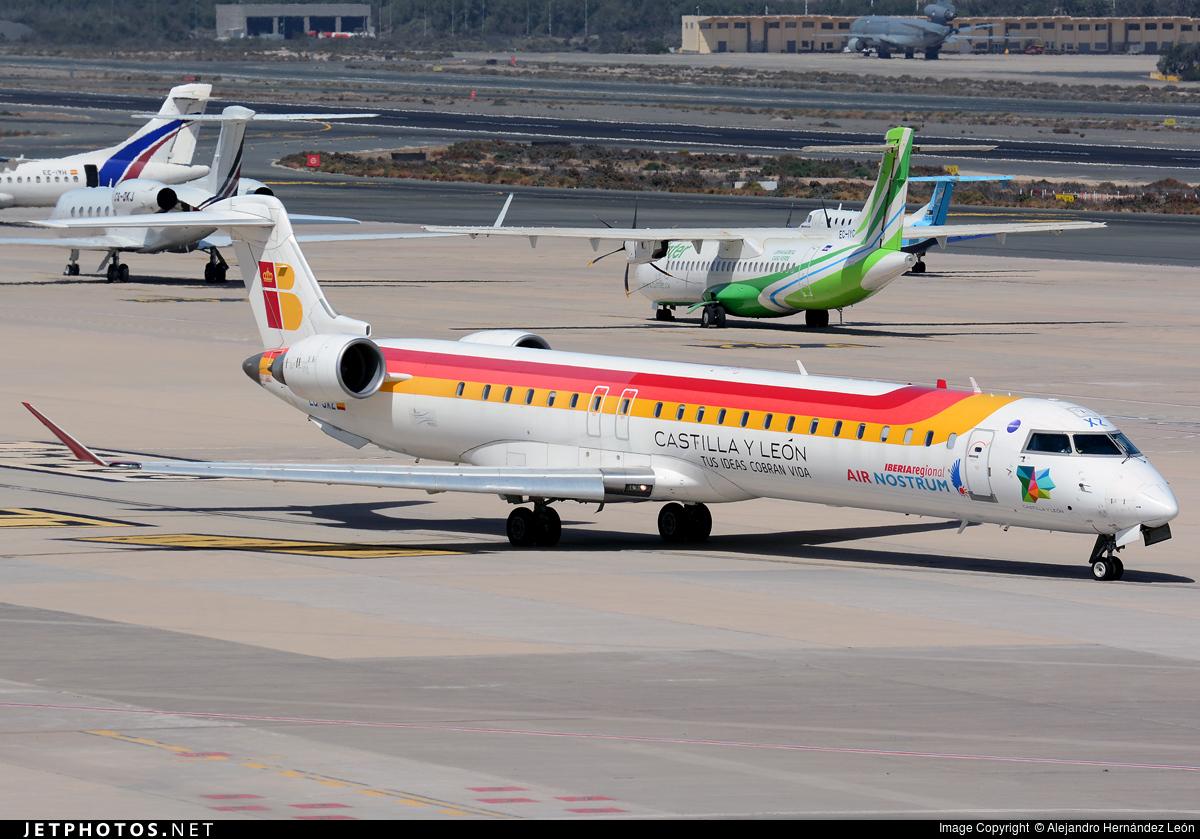 EC-JXZ | Bombardier CRJ-900ER | Iberia Regional (Air Nostrum