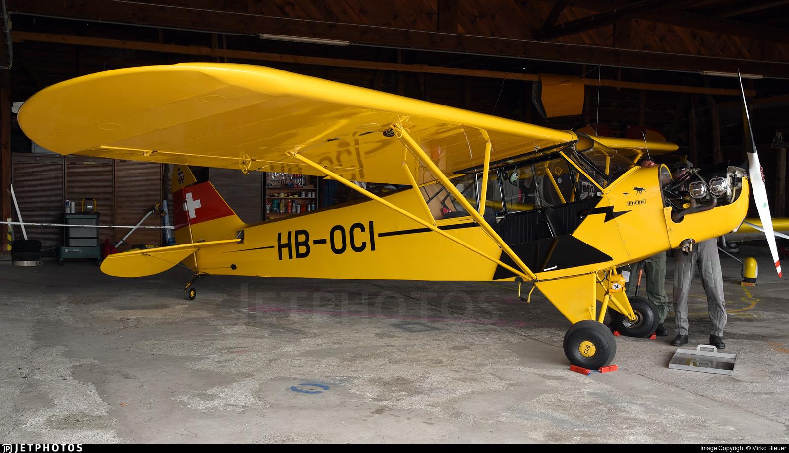 HB-OCI - Piper L-4H Cub - Private