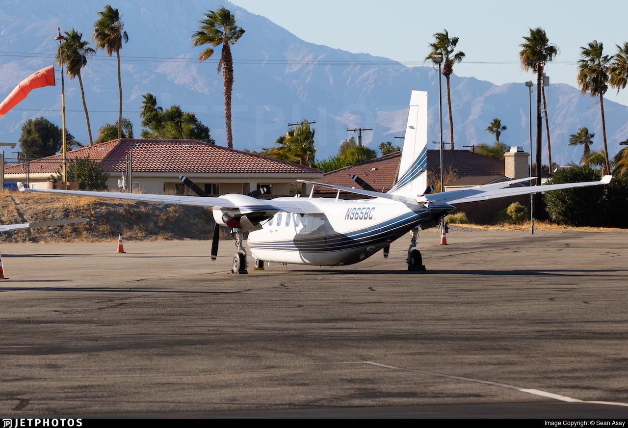 N965BC - Gulfstream Commander 695A Jetprop 1000 - Private