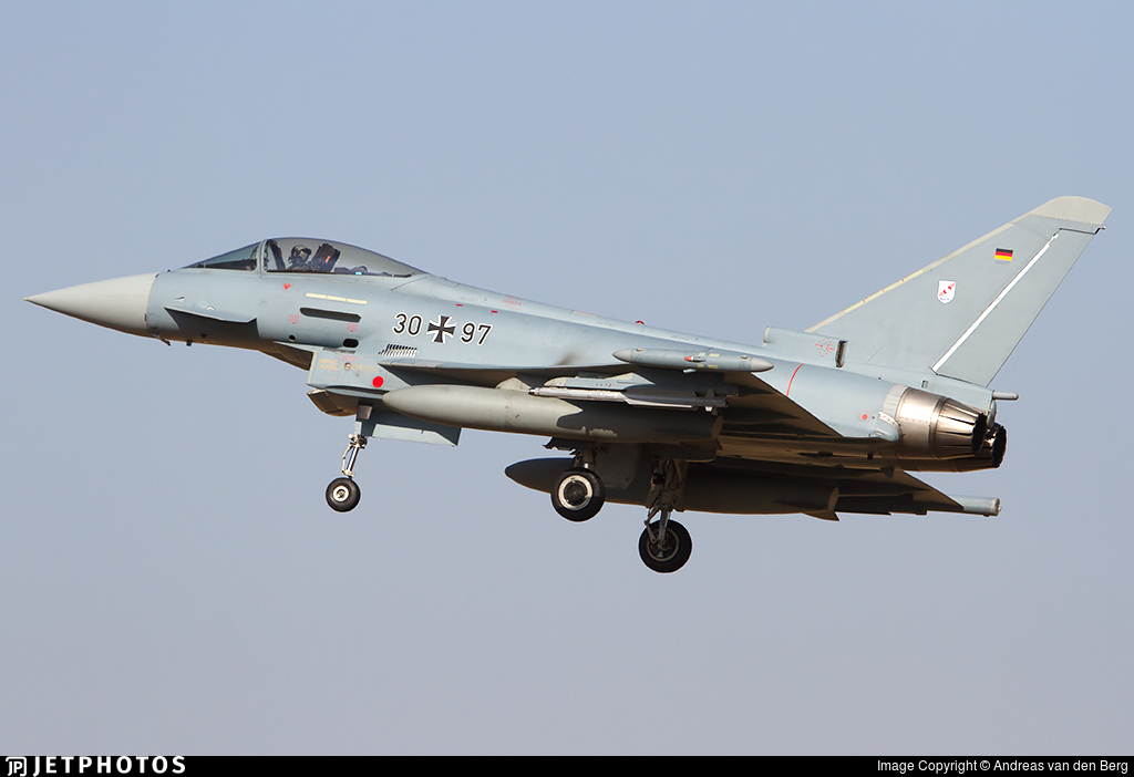 30-97 - Eurofighter Typhoon EF2000 - Germany - Air Force