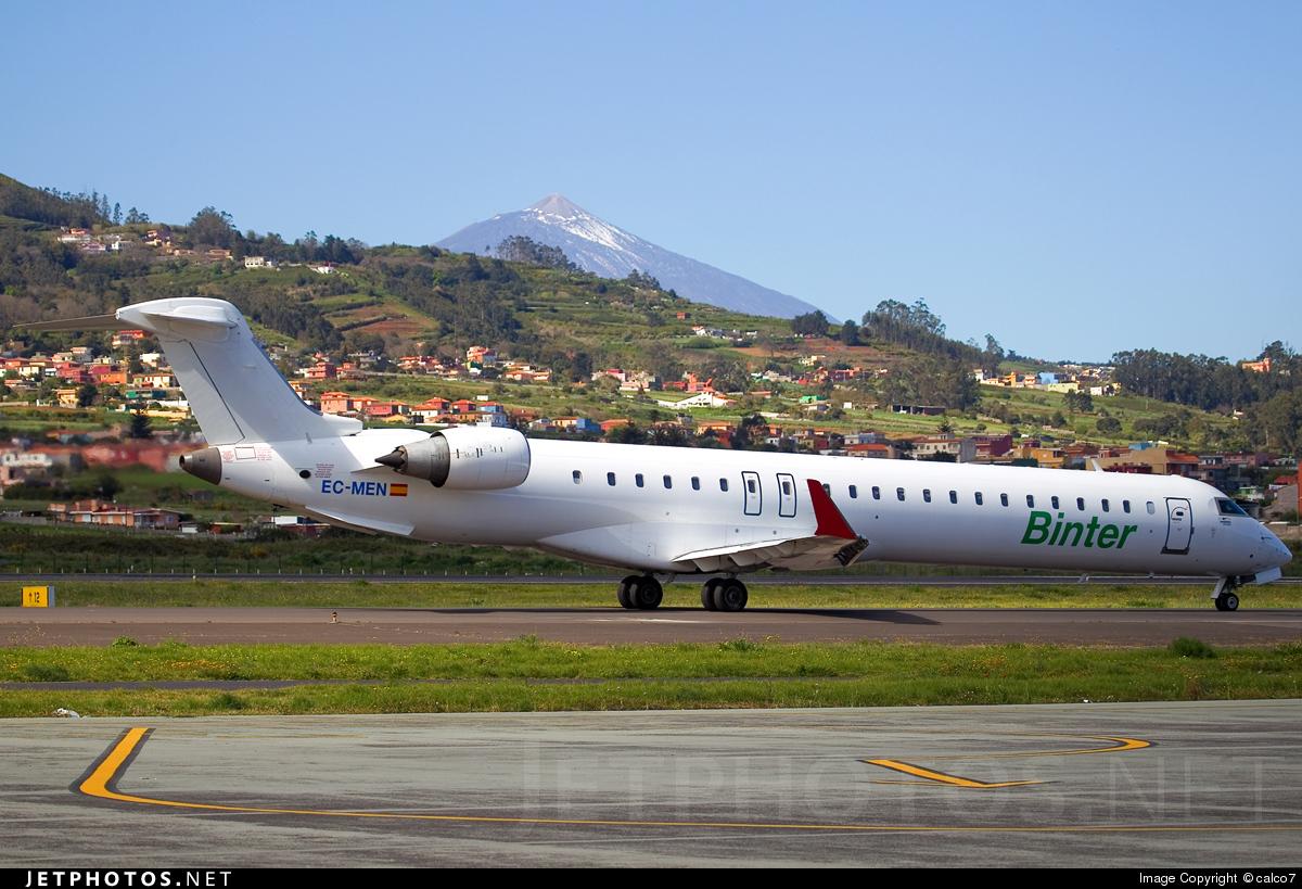 EC-MEN - Bombardier CRJ-900ER - Binter Canarias (Air Nostrum)