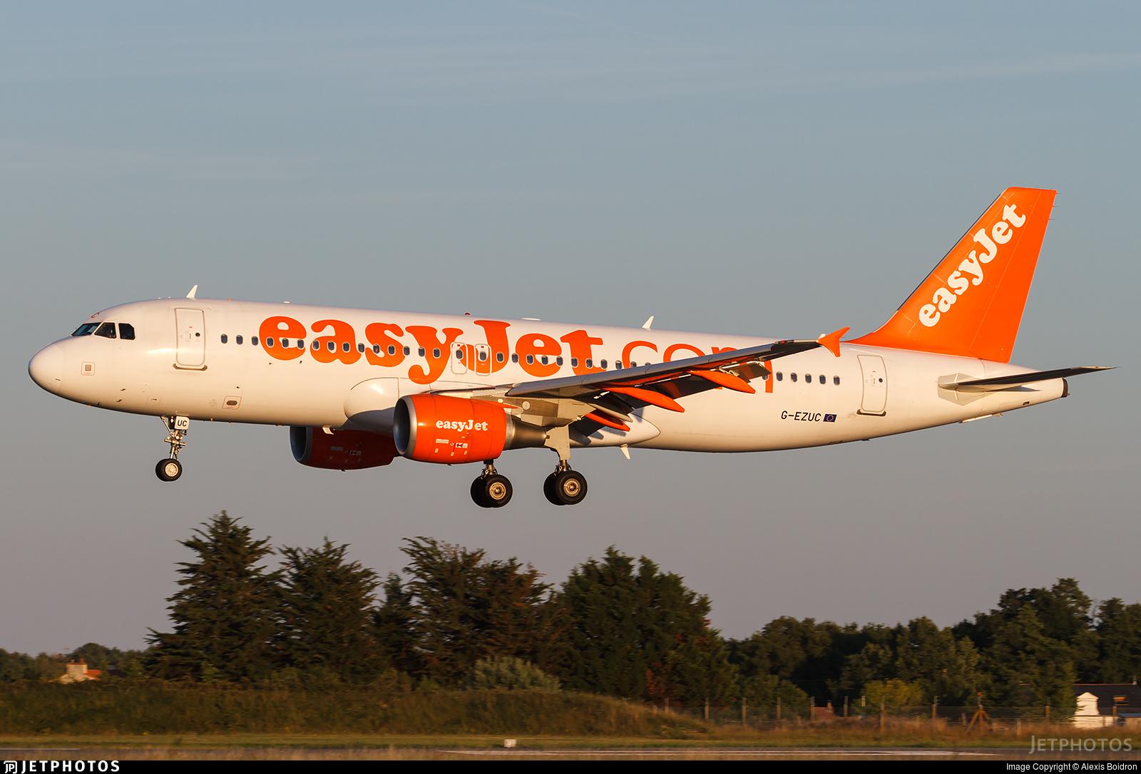 G-EZUC - Airbus A320-214 - easyJet