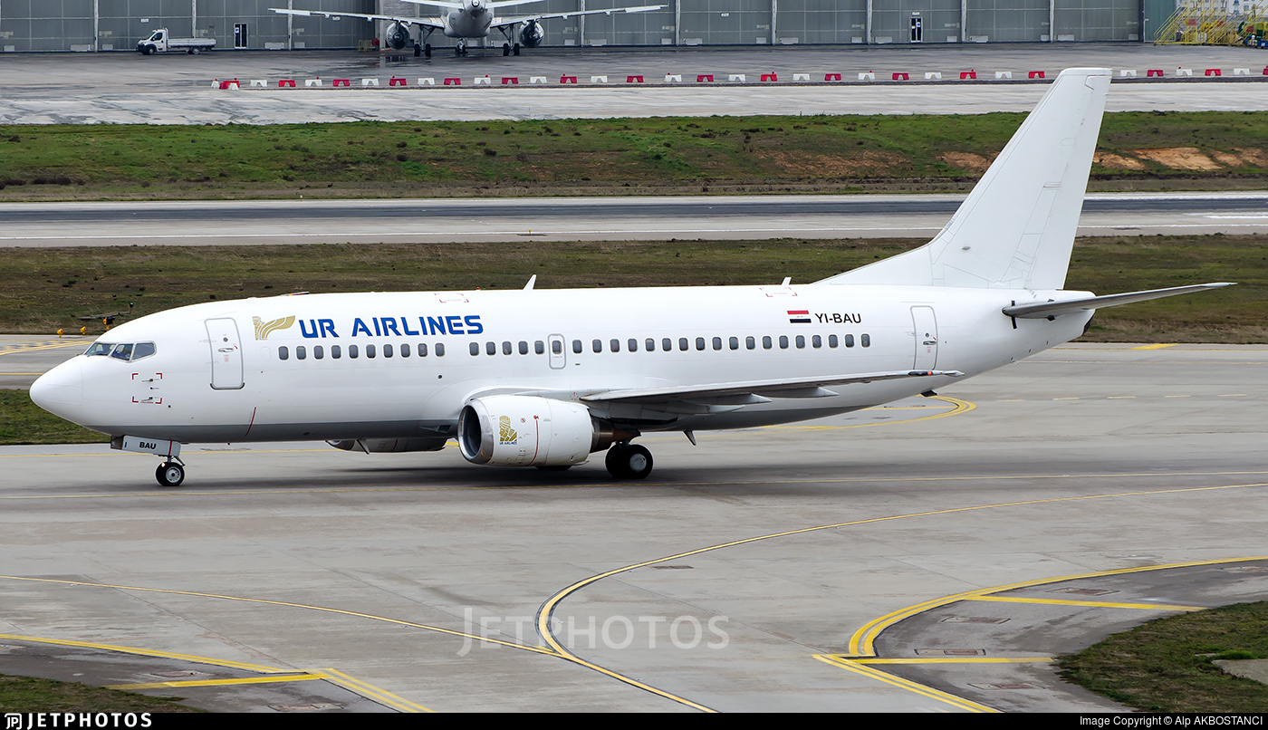YI-BAU - Boeing 737-319 - UR Airlines
