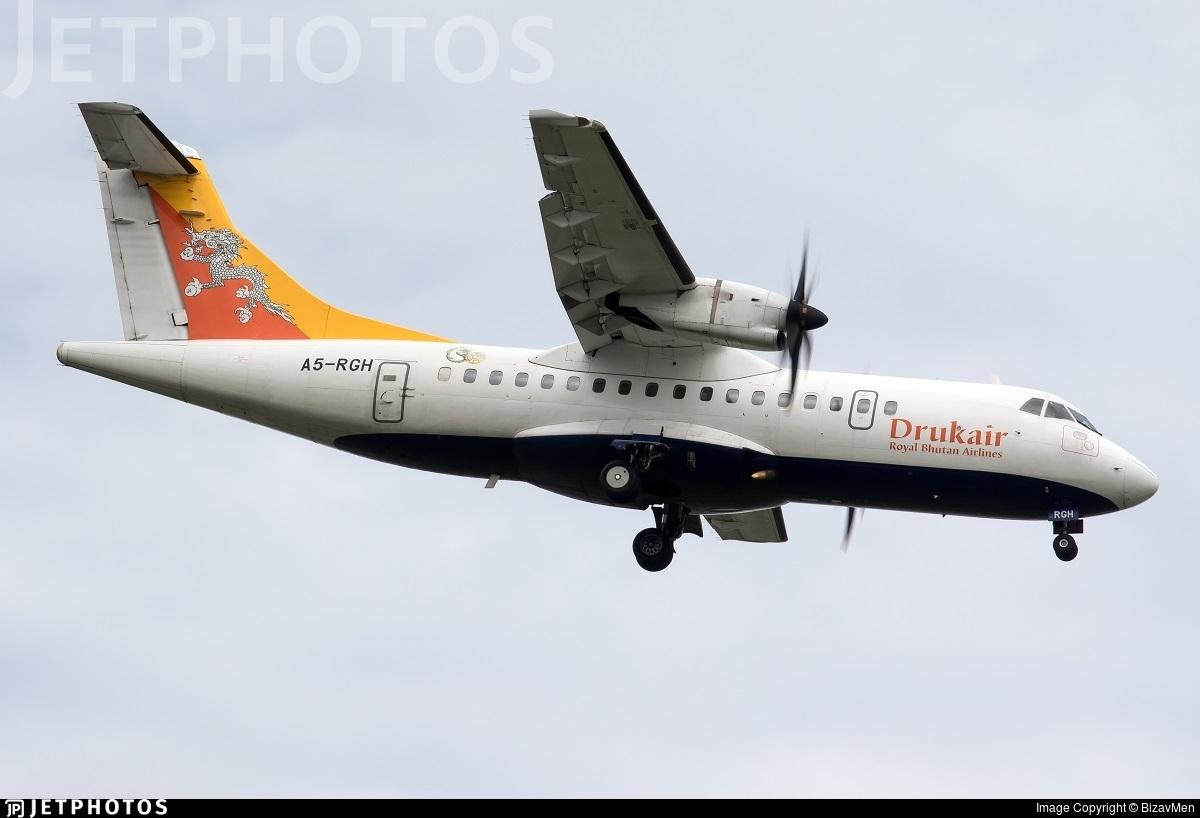 A5 Rgh Atr 42 500 Druk Air Royal Bhutan Airlines Bizavmen