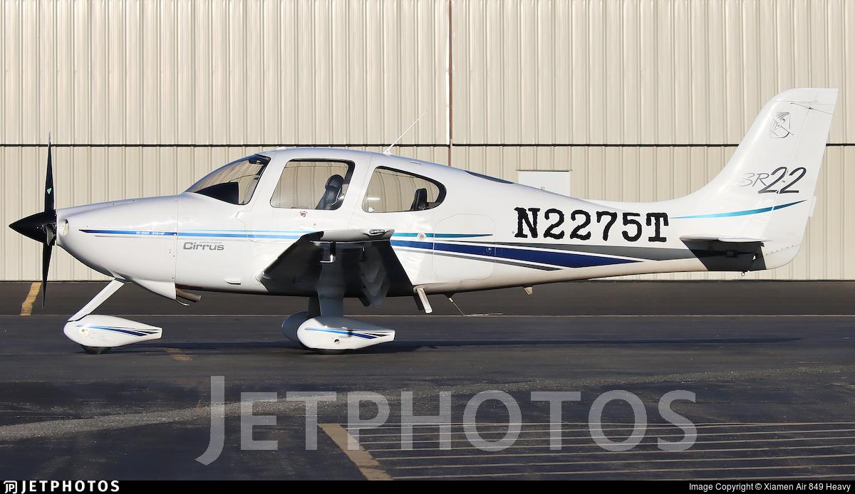 N2275T - Cirrus SR22 - Private