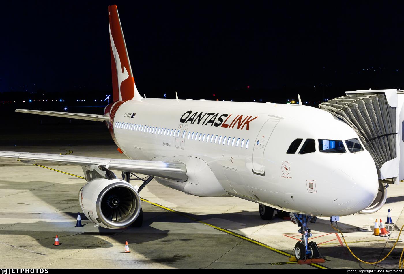 VH-UVK - Airbus A320-232 - QantasLink (Network Aviation)