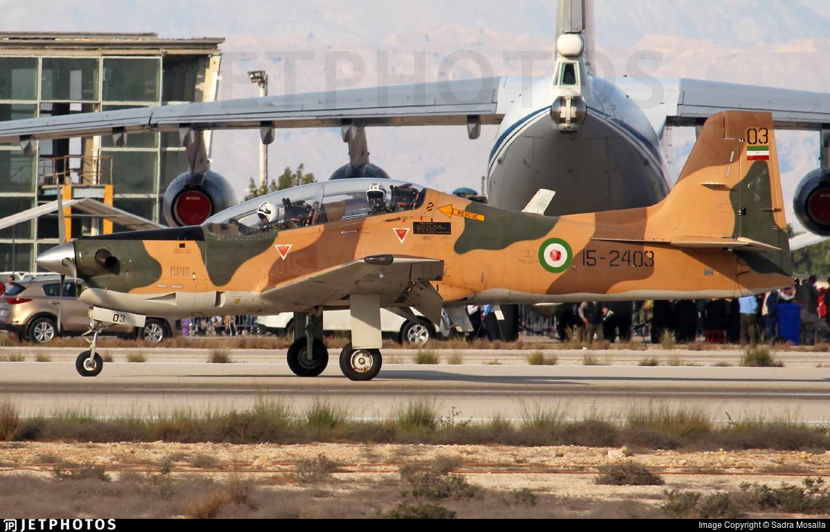 15-2403 - Embraer EMB-312 Tucano - Iran - Revolutionary Guard