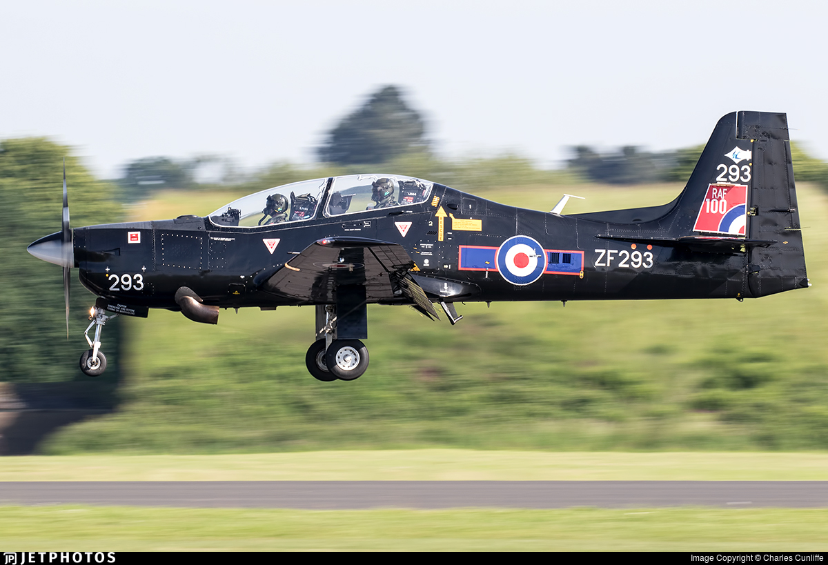 ZF293 - Short Tucano T.1 - United Kingdom - Royal Air Force (RAF)