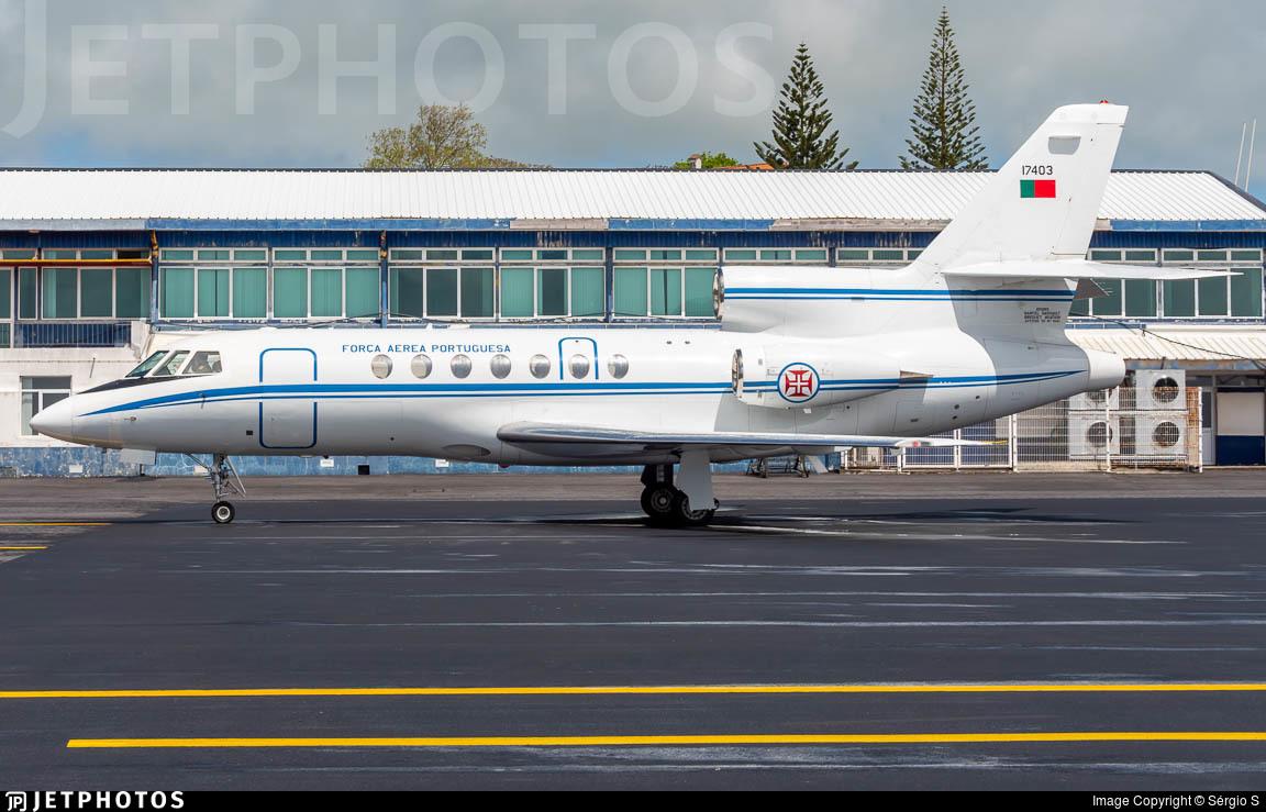 17403 - Dassault Falcon 50 - Portugal - Air Force