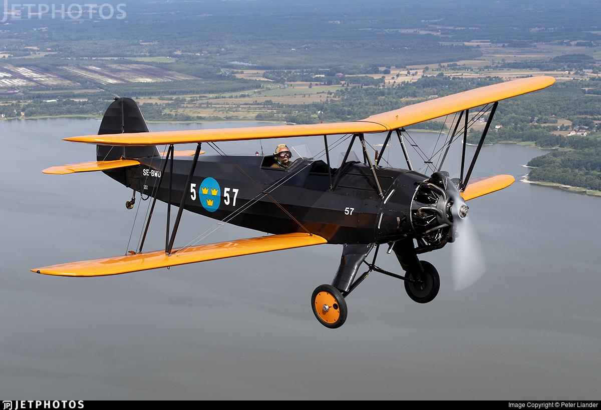 SE-BWU - Focke-Wulf Fw44J Stieglitz - Private