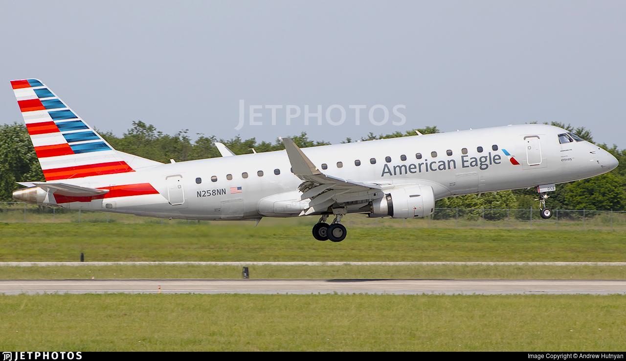 N258NN - Embraer 170-200LR - American Eagle (Envoy Air)