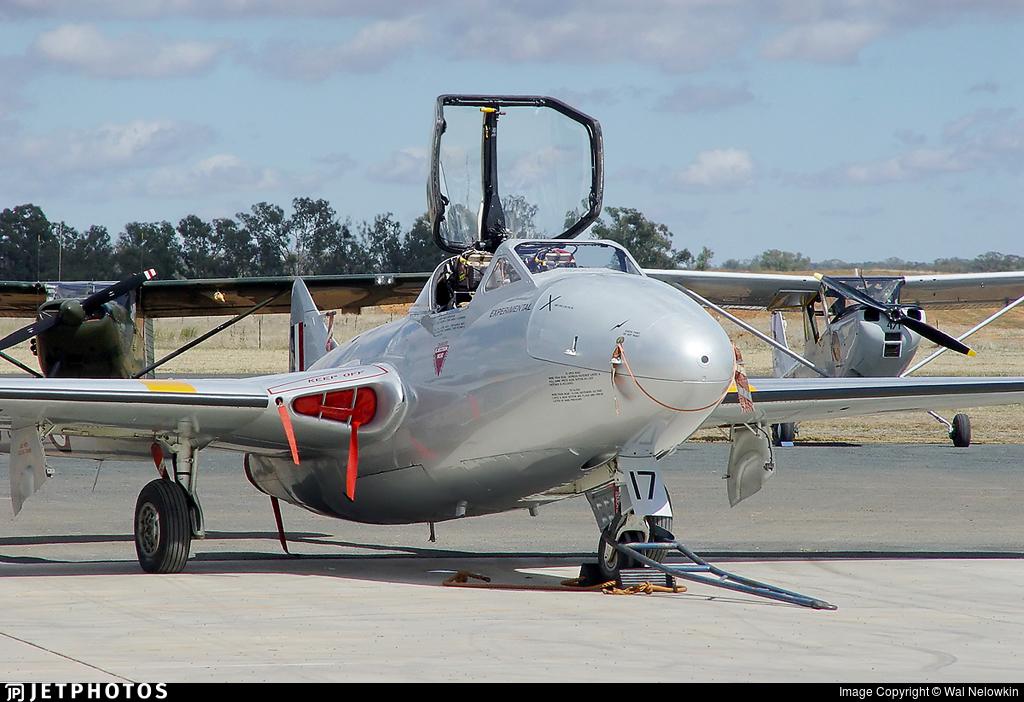 VH-VAM - De Haviland Australia Vampire T.35 - Temora Aviation Museum