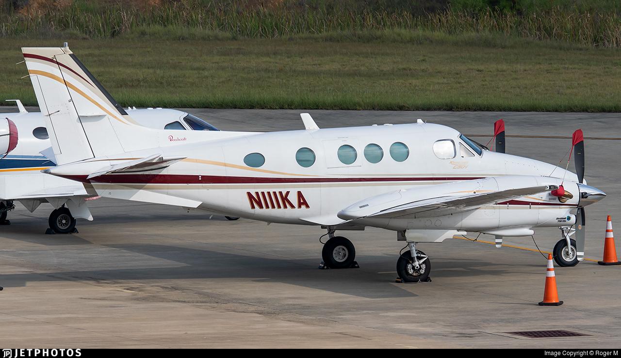 N111KA  - Beechcraft C90 King Air - Private