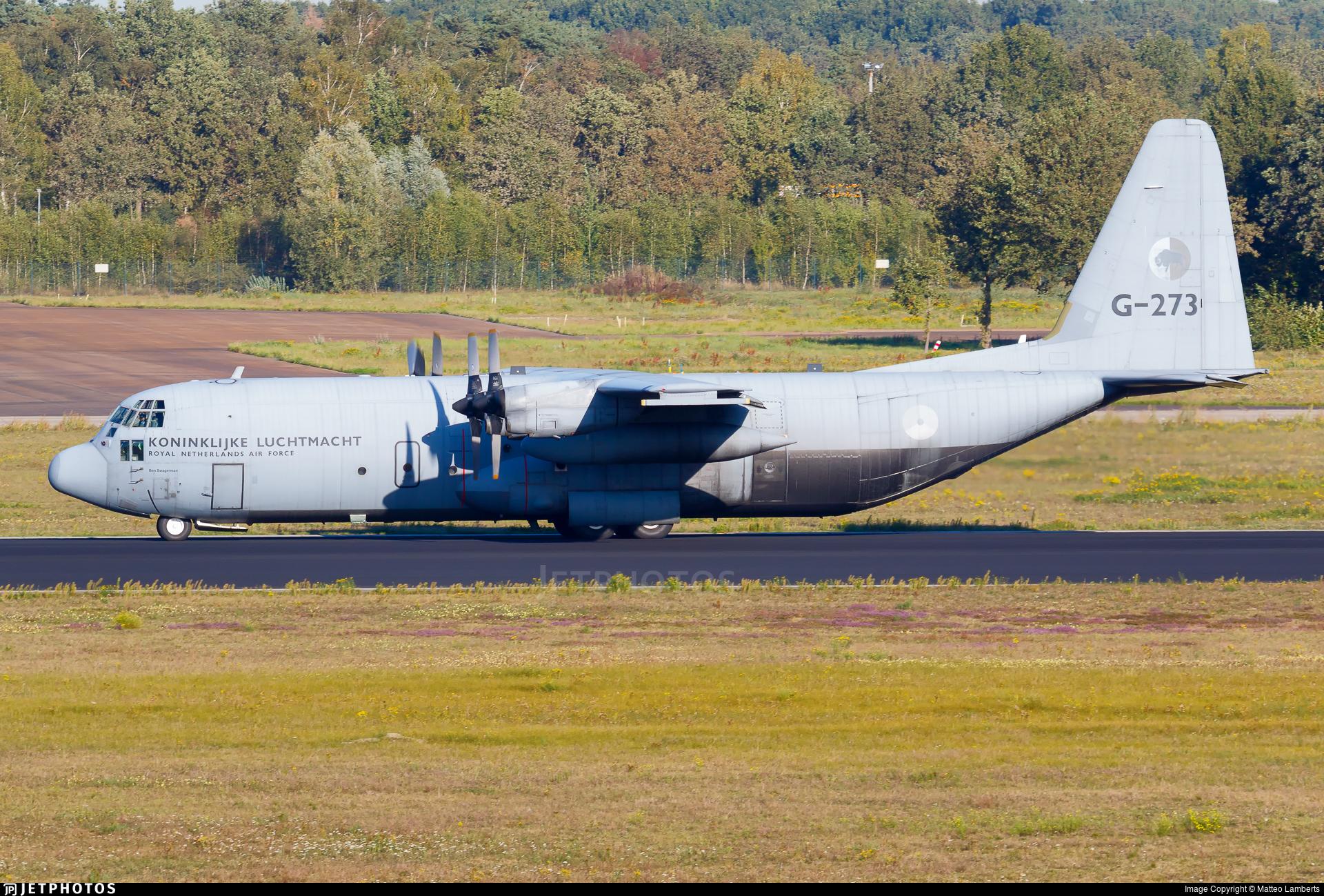 G-273 - Lockheed C-130H-30 Hercules - Netherlands - Royal Air Force