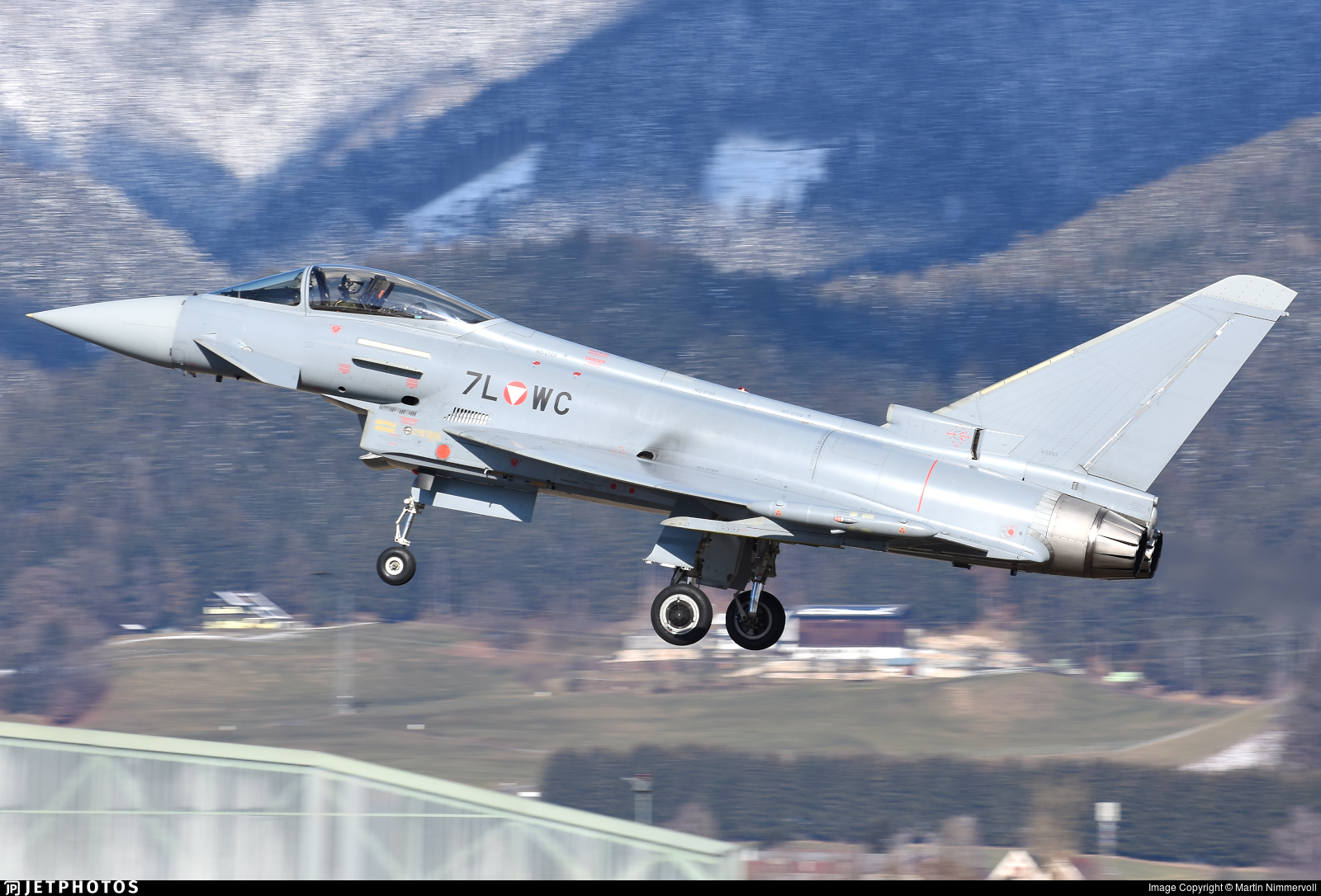 7L-WC - Eurofighter Typhoon EF2000 - Austria - Air Force
