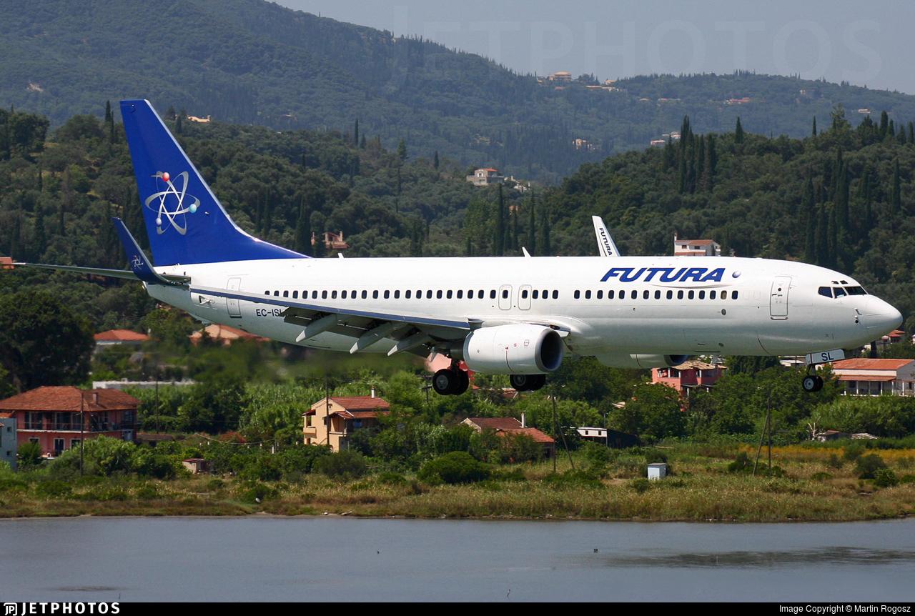 EC-ISL - Boeing 737-86N - Futura International Airways