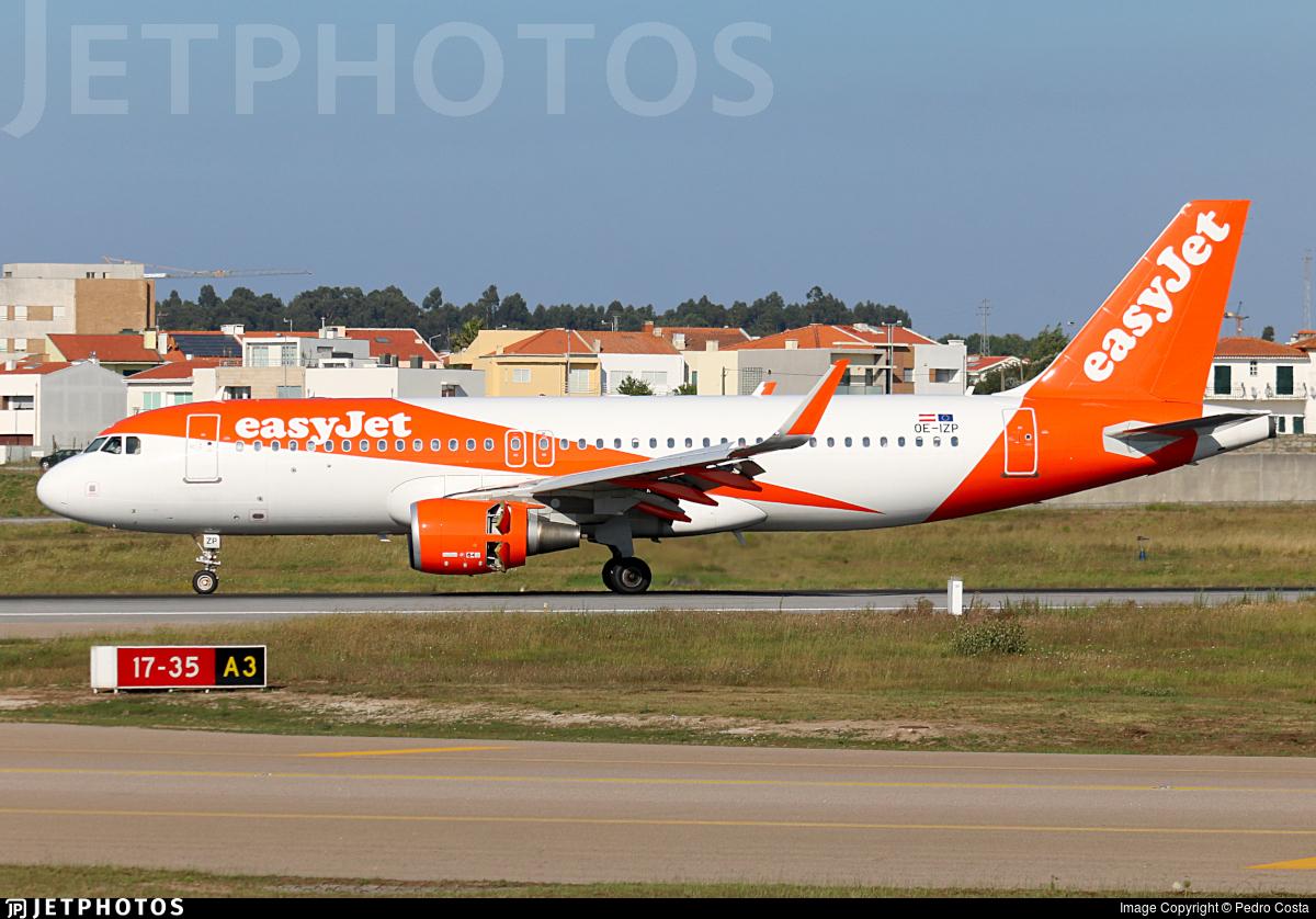 OE-IZP - Airbus A320-214 - easyJet Europe