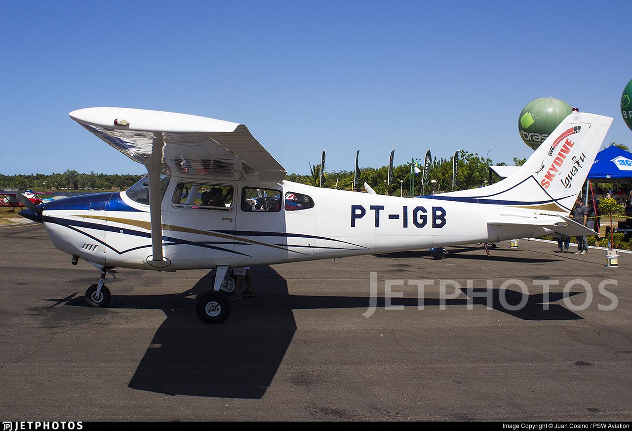 PT-IGB - Cessna 182C Skylane - Clube de Paraquedismo Skydive Iguatu
