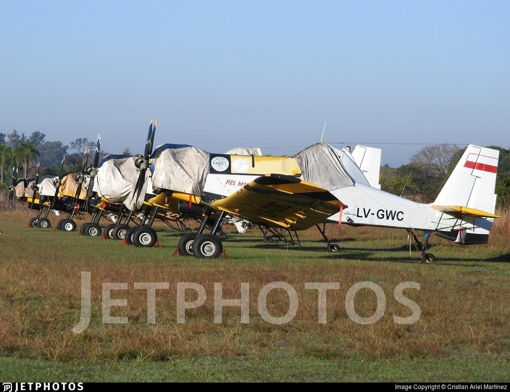 LV-GWC - PZL-Mielec M-18B Dromader - Plan Nacional del Manejo del Fuego