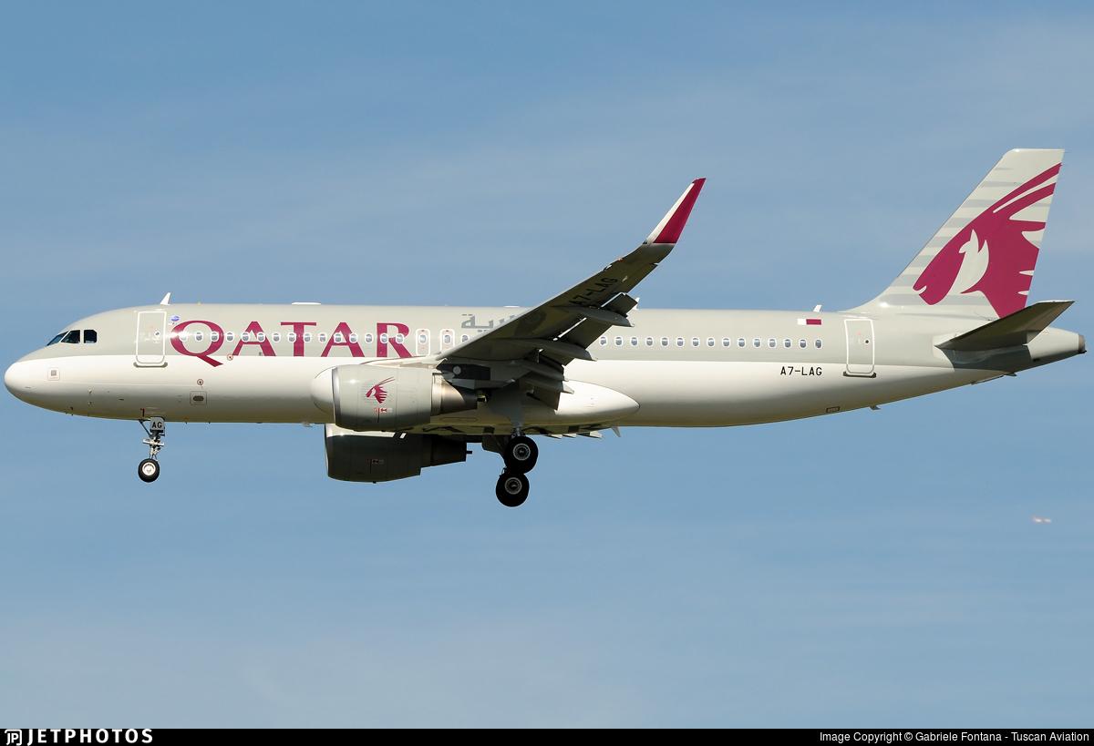 A7-LAG - Airbus A320-214 - Qatar Airways