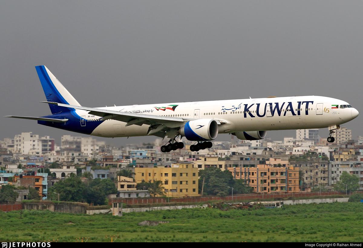 9K-AOE - Boeing 777-369ER - Kuwait Airways
