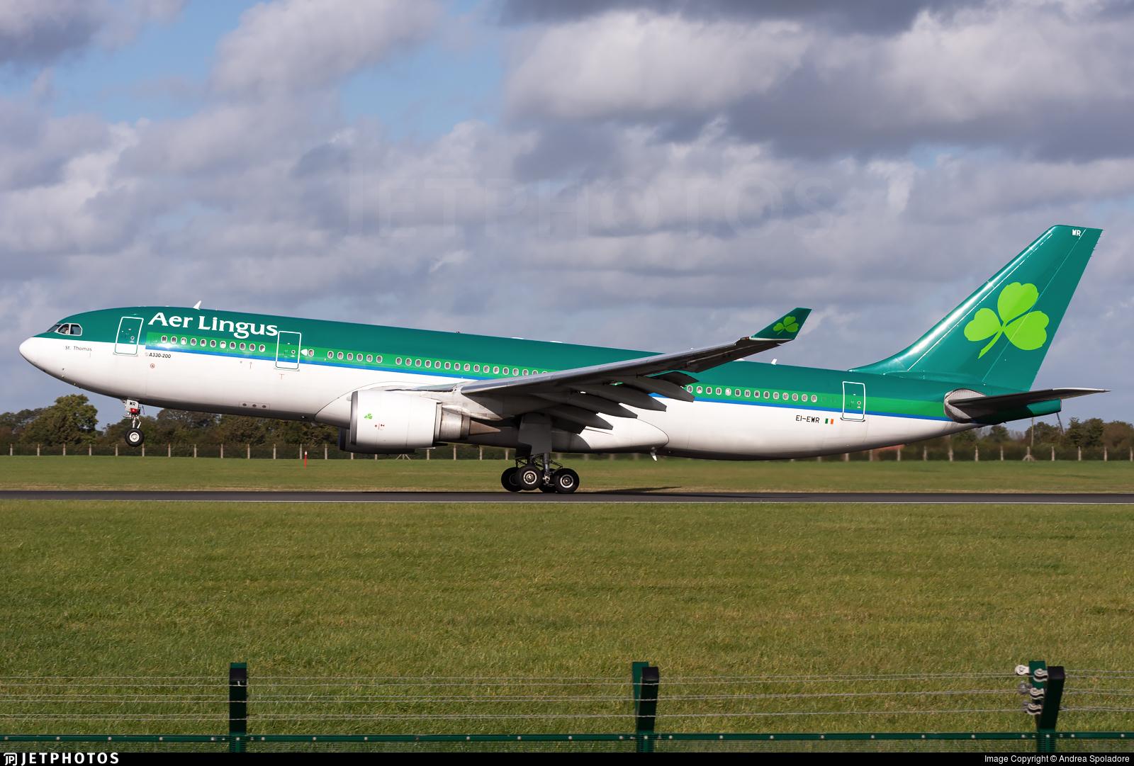 EI-EWR - Airbus A330-202 - Aer Lingus
