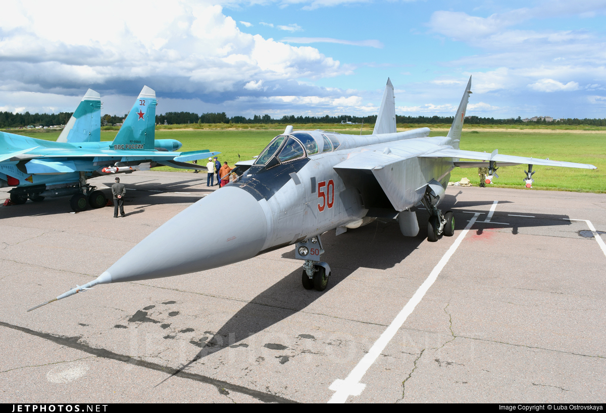 RF-92382 - Mikoyan-Gurevich MiG-31 Foxhound - Russia - Air Force