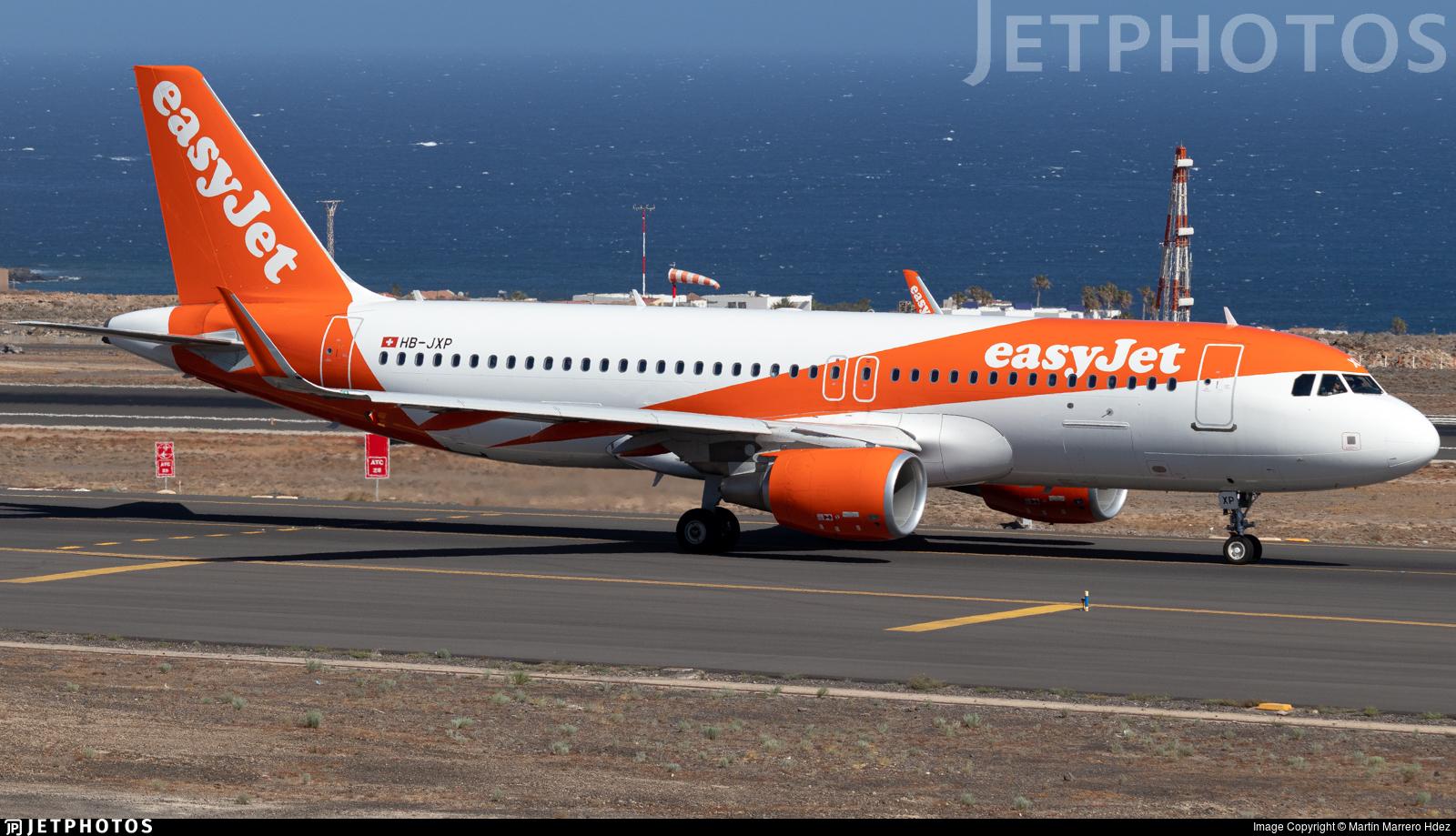 HB-JXP - Airbus A320-214 - easyJet Switzerland
