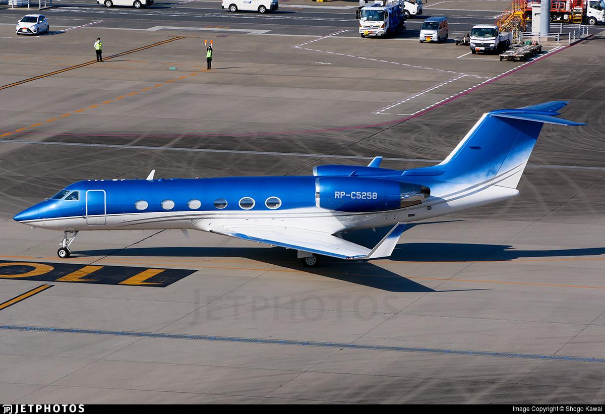RP-C5258 - Gulfstream G-IV(SP) - Private