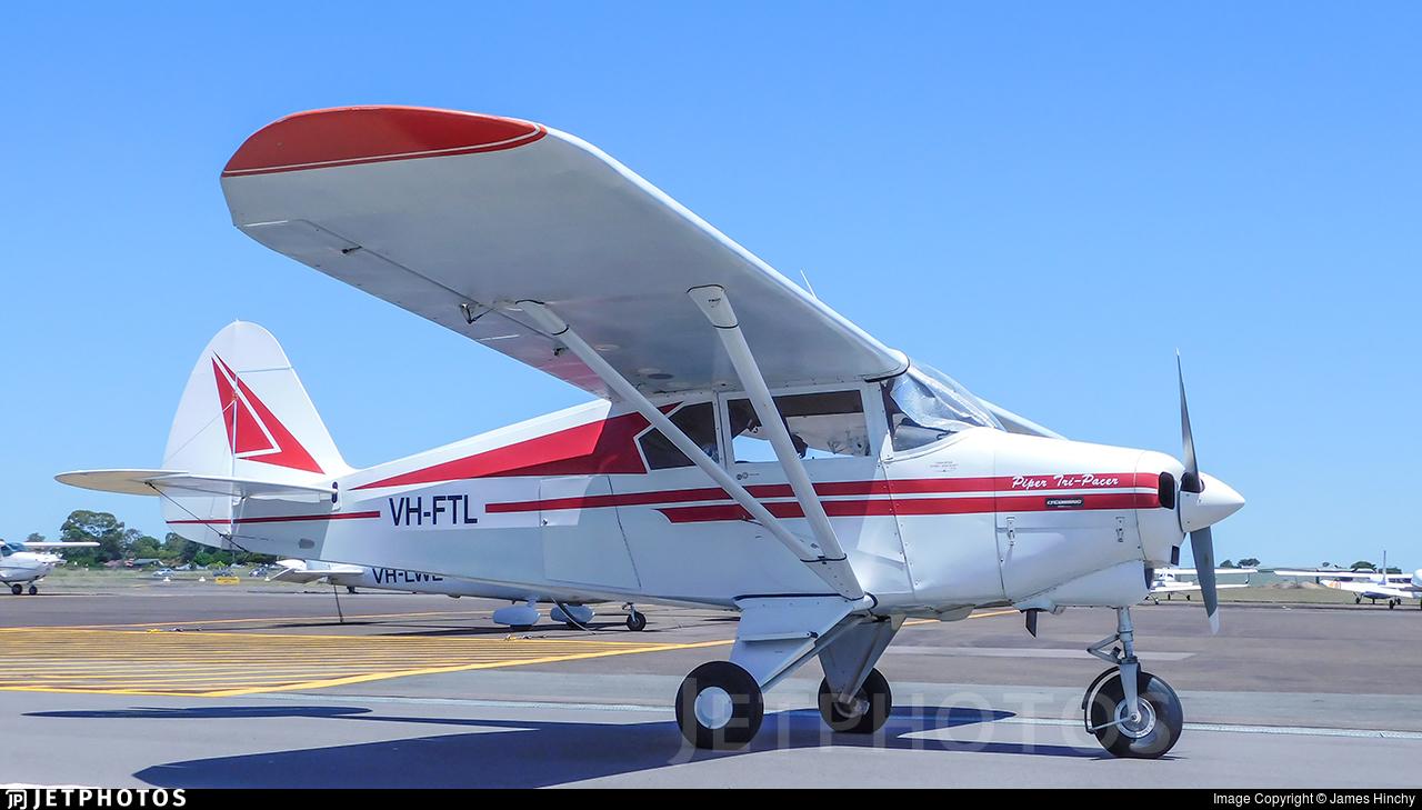 VH-FTL - Piper PA-22-160 Tri-Pacer - Private