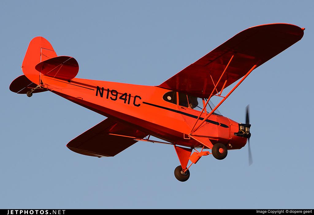 N1941C - Piper J-5A Cub Cruiser - Private