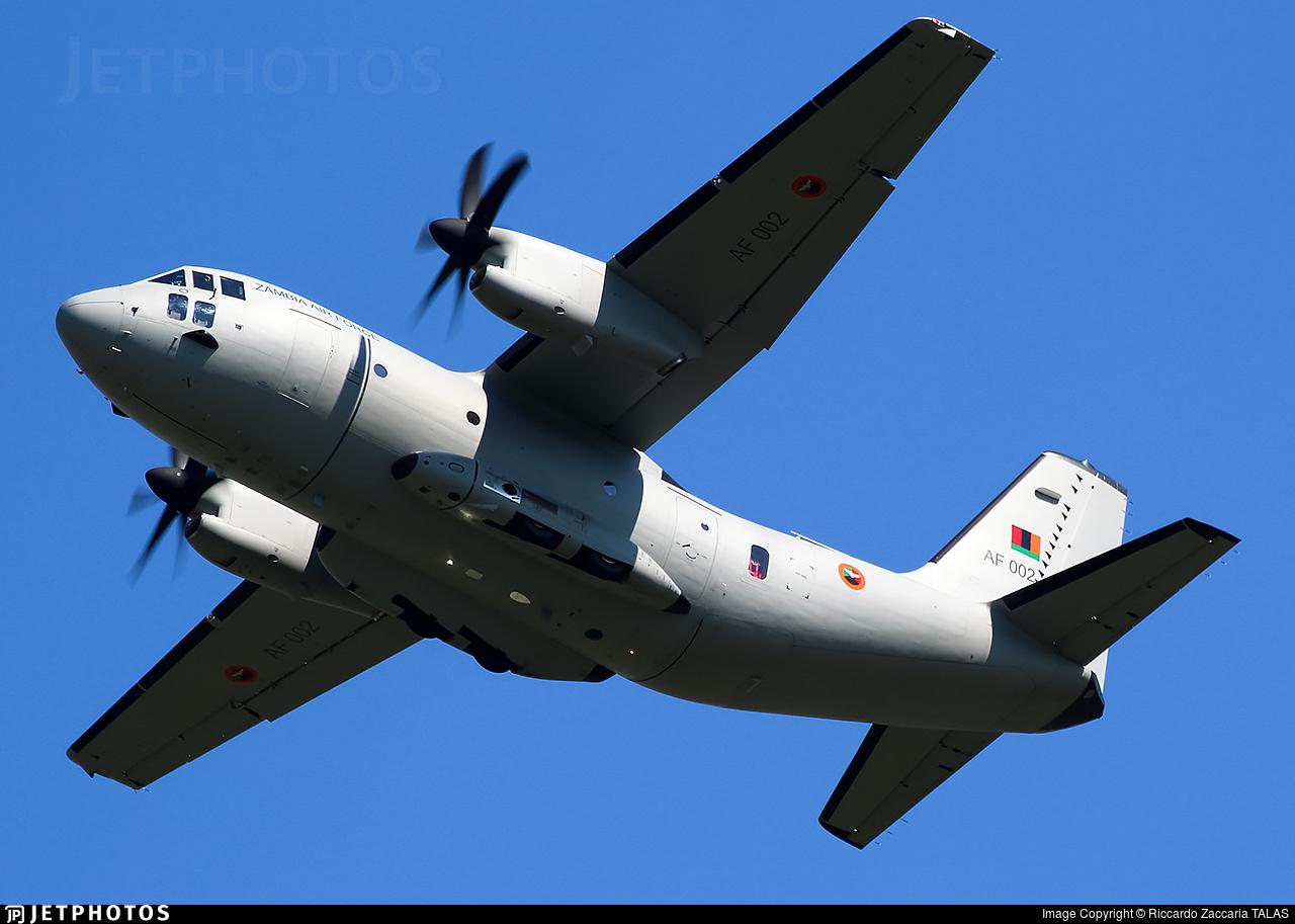AF002 - Alenia C-27J Spartan - Zambia - Air Force