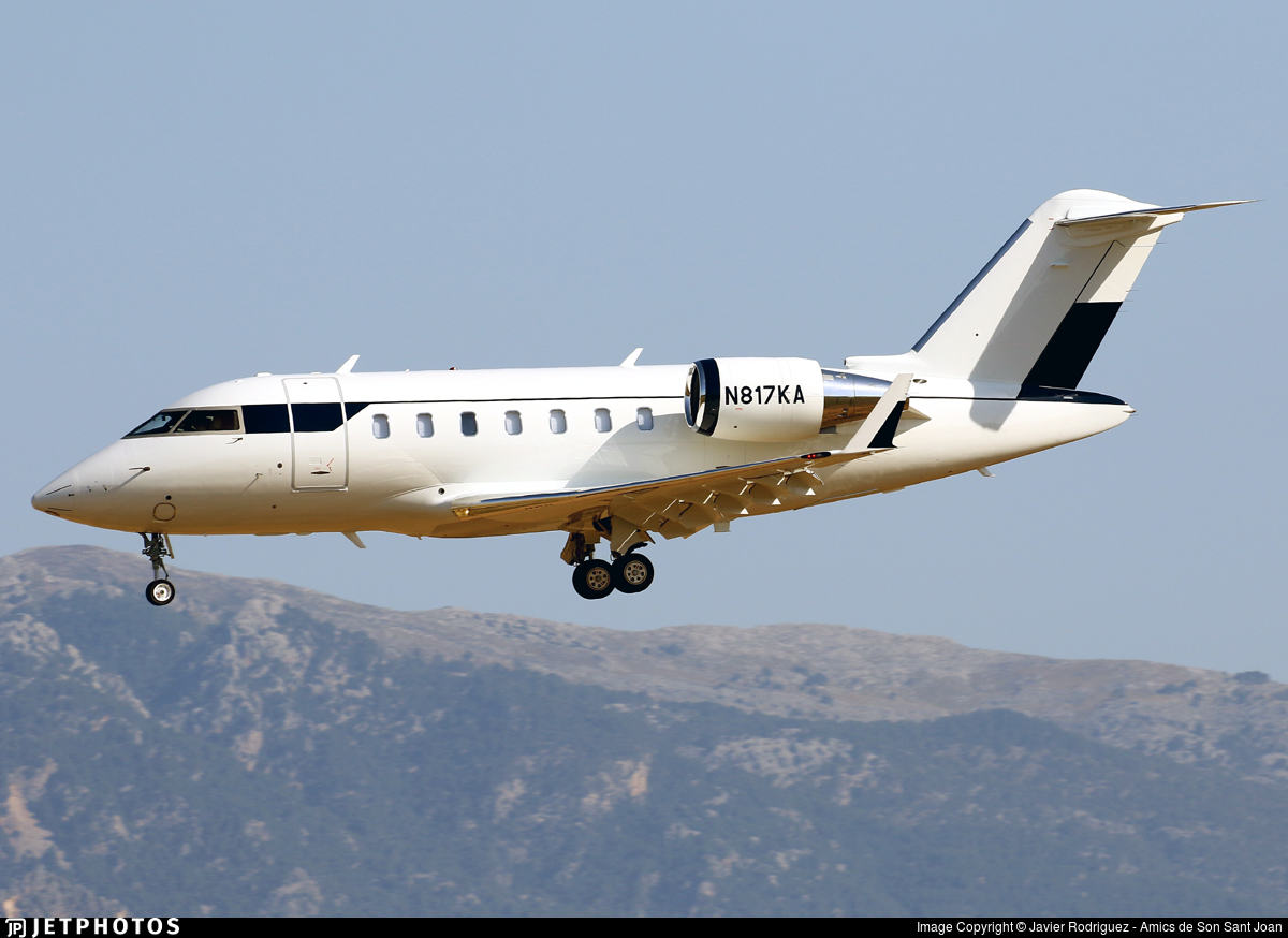 N817KA - Bombardier CL-600-2B16 Challenger 650 - Private