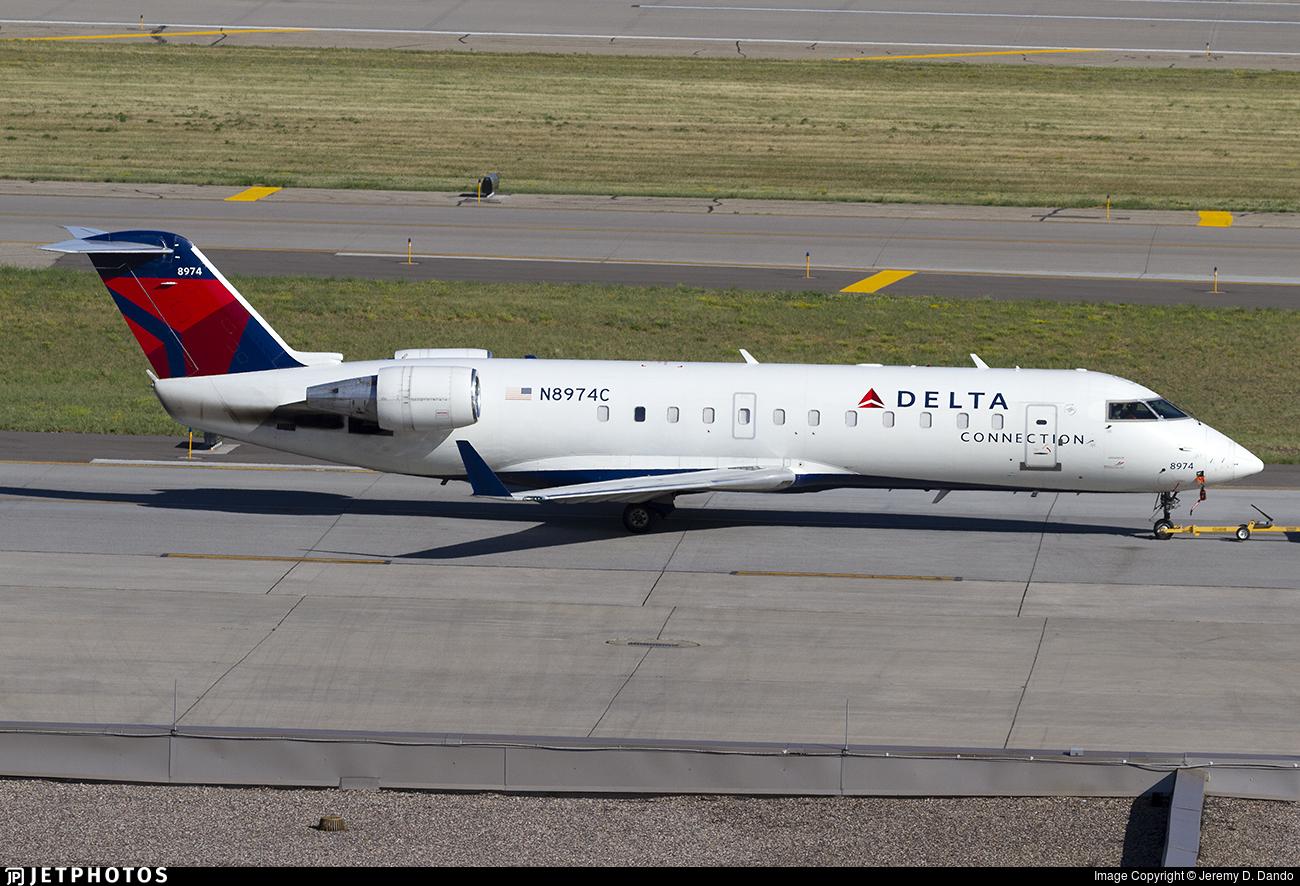 N8974C - Bombardier CRJ-200LR - Delta Connection (Endeavor Air)