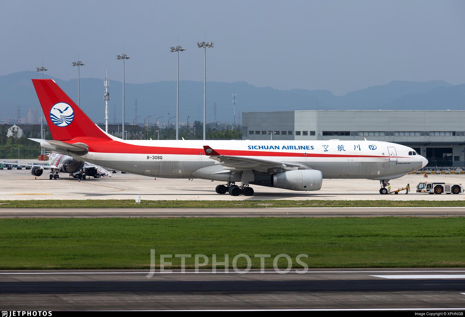 B-308Q - Airbus A330-243F - Sichuan Airlines Cargo