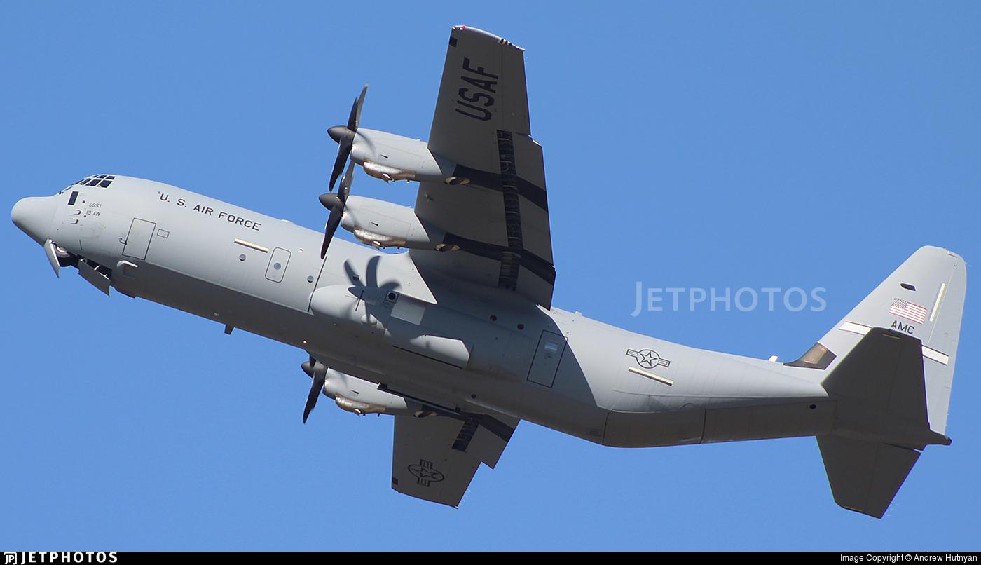 16-5851 - Lockheed Martin C-130J-30 Hercules - United States - US Air Force (USAF)