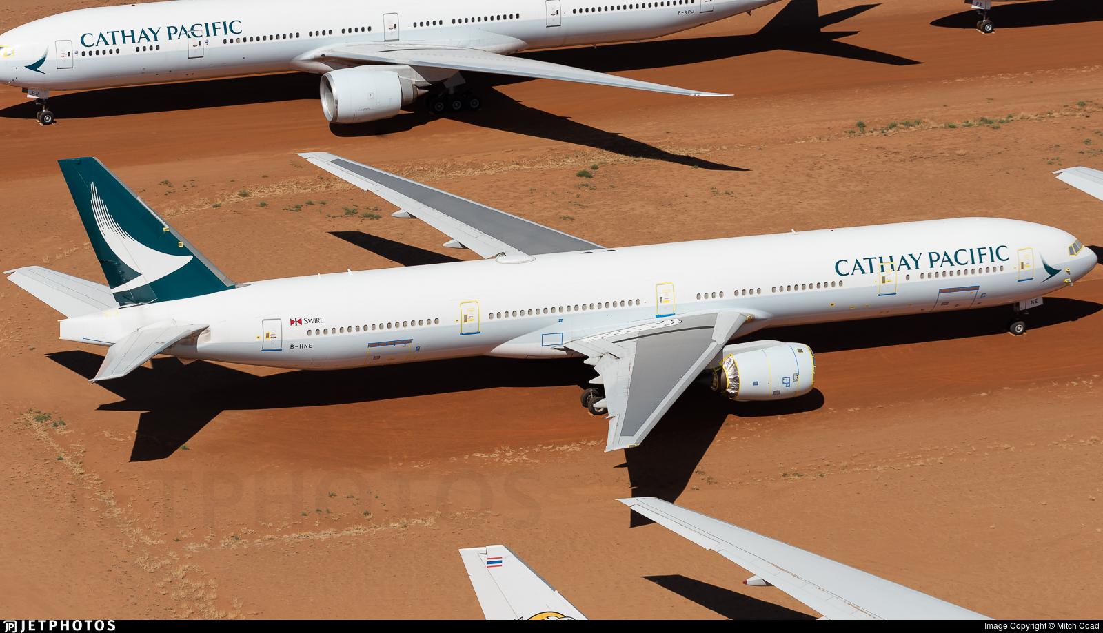 B-HNE - Boeing 777-367 - Cathay Pacific Airways