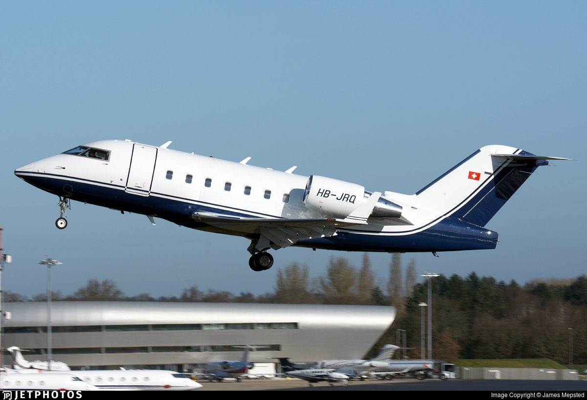 HB-JRQ - Bombardier CL-600-2B16 Challenger 604 - Albinati Aviation