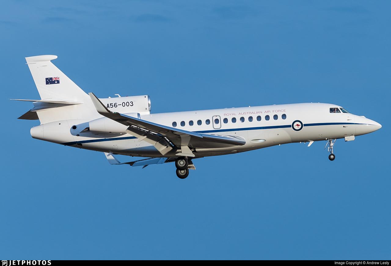 A56-003 - Dassault Falcon 7X - Australia - Royal Australian Air Force (RAAF)
