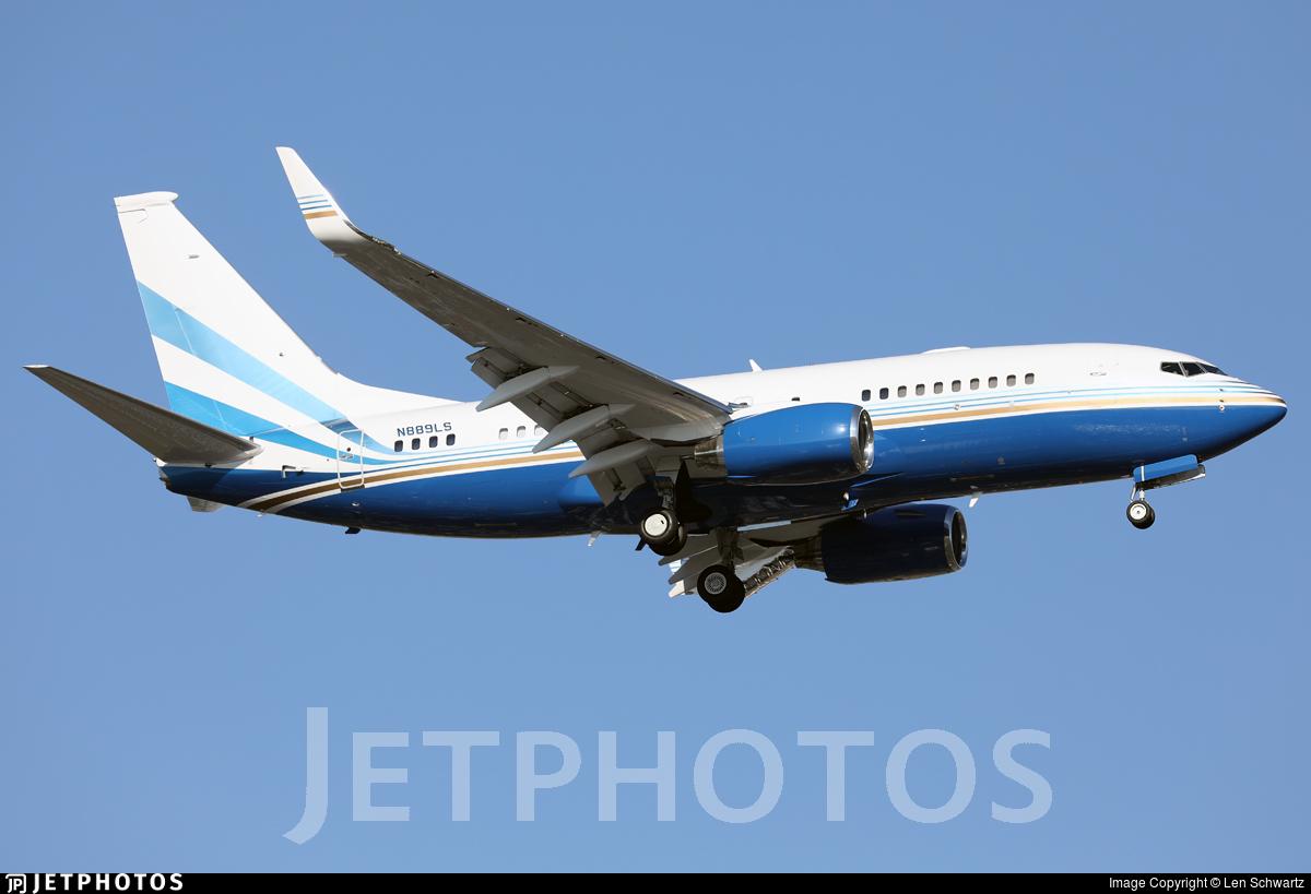 N889LS - Boeing 737-73T(BBJ) - Las Vegas Sands Corporation