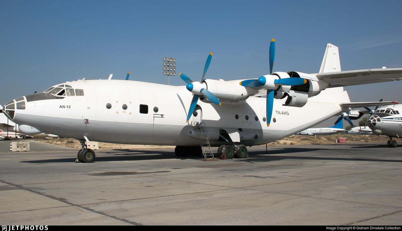TN-AHG - Antonov An-12BP - Untitled