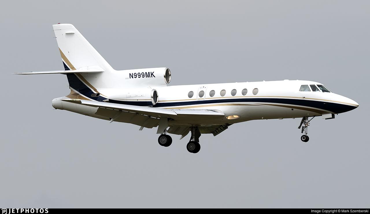 N999MK - Dassault Falcon 50 - Private