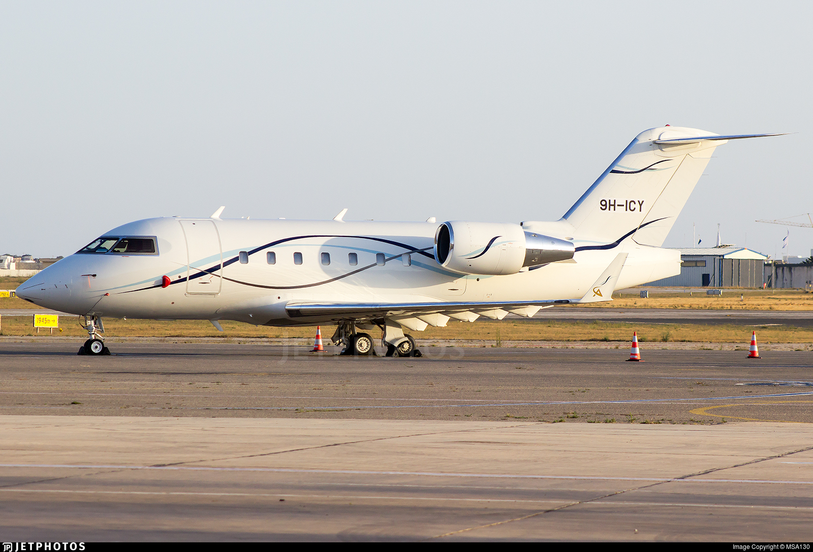 9H-ICY - Bombardier CL-600-2B16 Challenger 601-3A - Air CM Global