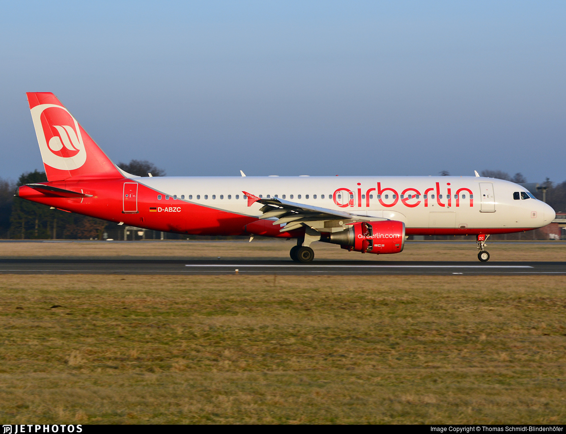 D-ABZC - Airbus A320-216 - Air Berlin