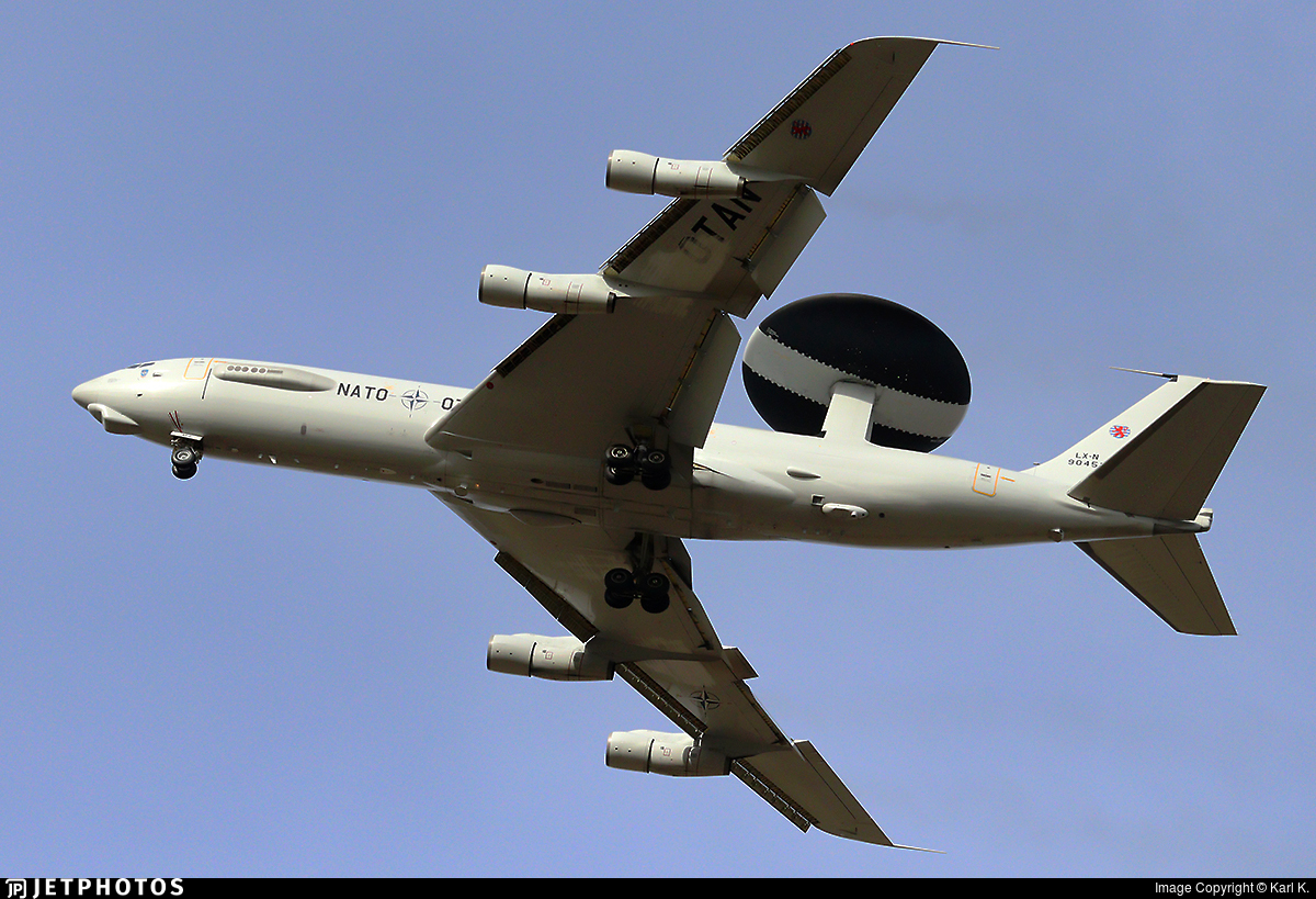 LX-N90452 - Boeing E-3A Sentry - NATO - Airborne Early Warning Force