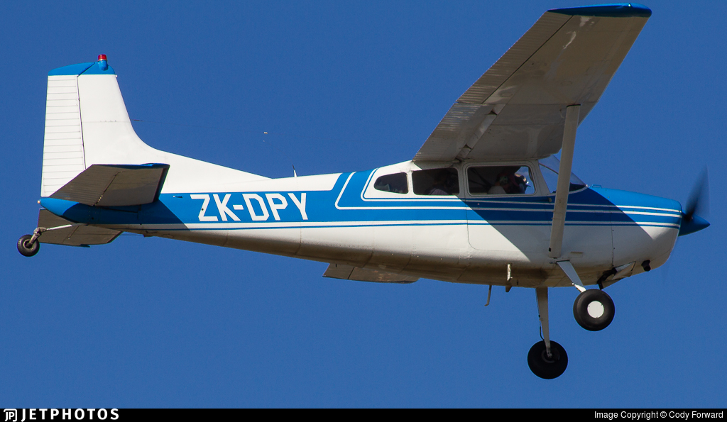 ZK-DPY - Cessna 185A Skywagon - Private