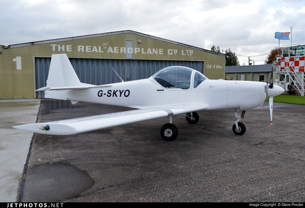 G-SKYO - Slingsby T67M200 Firefly - Private